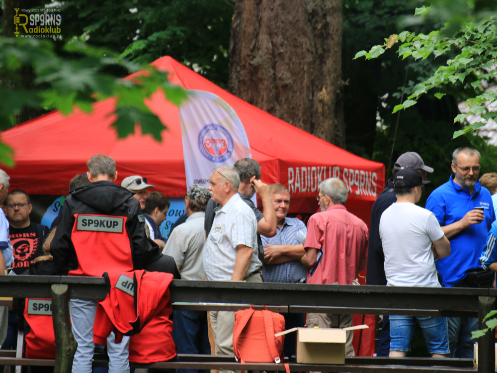 Sądecki Bartnik - 26.06.2021r - spotkanie piknikowe krótkofalowców
